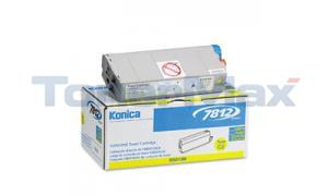 KONICA 7812 TONER CARTRIDGE YELLOW (950186)