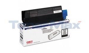 OKIDATA C3200 TONER CARTRIDGE BLACK (43034804)