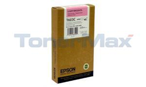 EPSON SP 7800 9800 K3 INK CTG LIGHT MAGENTA 220ML (T603C00)