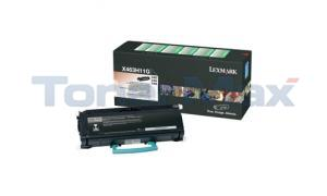 LEXMARK X463DE RP TONER CARTRIDGE BLACK 9K (X463H11G)