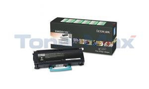 LEXMARK X463DE RP TONER CARTRIDGE BLACK 3.5K (X463A11G)