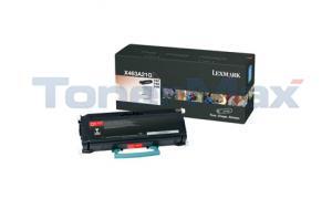 LEXMARK X463DE TONER CART BLK (X463A21G)