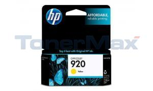 HP NO 920 INK YELLOW (CH636AN)