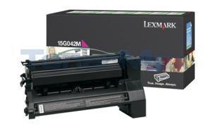 LEXMARK C752 PRINT CARTRIDGE MAGENTA RP 15K (15G042M)
