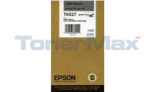EPSON SP 7800 9800 K3 INK CTG LIGHT BLACK 110ML (T602700)