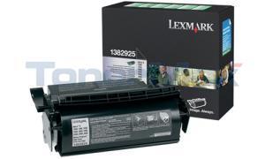 LEXMARK OPTRA S1250 PRINT CART BLACK RP 17.6K (1382925)