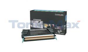 LEXMARK C734DN RP TONER CART BLACK 8K (C734A1KG)