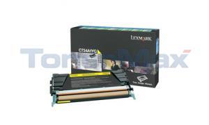 LEXMARK C734DN RP TONER CART YELLOW 6K (C734A1YG)