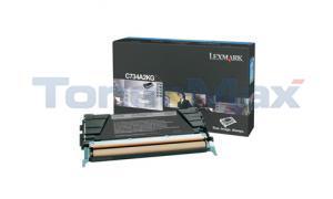 LEXMARK C734DN TONER CART BLACK 8K (C734A2KG)