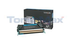 LEXMARK C734DN TONER CART CYAN 6K (C734A2CG)
