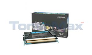 LEXMARK C736DN TONER CART CYAN RP 10K (C736H1CG)