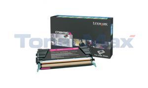LEXMARK C736DN TONER CART MAGENTA RP 10K (C736H1MG)