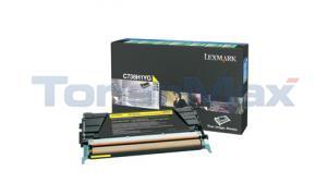 LEXMARK C736DN TONER CARTRIDGE YELLOW RP 10K (C736H1YG)
