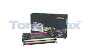LEXMARK C736DN TONER CART MAGENTA 10K (C736H2MG)