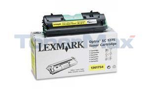 LEXMARK OPTRA SC 1275 TONER CART YELLOW (1361754)