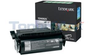 LEXMARK OPTRA SE3455 PRINT CARTRIDGE BLACK RP HY (12A0825)