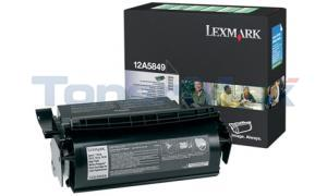 LEXMARK OPTRA T610 RP PRINT CART LABEL APPS 25K (12A5849)