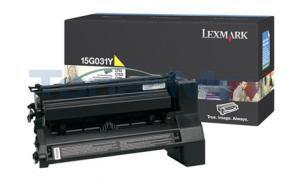 LEXMARK C752 PRINT CART YELLOW 6K (15G031Y)