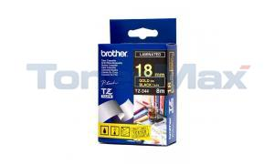 BROTHER P-TOUCH TAPE GOLD/BLACK (3/4 X 26) (TZ-344)
