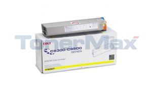 OKIDATA C9300/C9500 TYPE C5 TONER YELLOW (41963601)