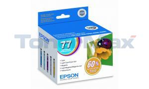 EPSON NO 77 INK COLOR HY MULTIPACK (T077920)