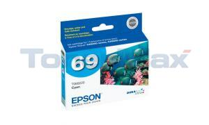 EPSON NO 69 INK CYAN (T069220)