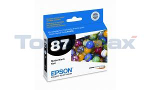 EPSON R1900 NO 87 PHOTO INK MATTE BLACK (T087820)