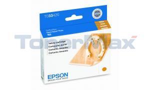 EPSON STYLUS PRO 960 INKJET CART YELLOW (T033420)