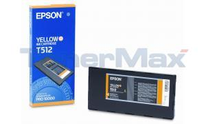 EPSON STYLUS PRO 10000 INK CARTRIDGE YELLOW 500ML (T512011)