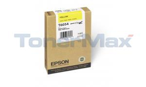 EPSON STYLUS PRO 4880 INK CARTRIDGE YELLOW 110ML (T605400)