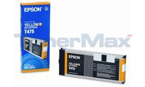 EPSON STYLUS PRO 9500 INK YELLOW 220ML (T475011)