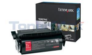 LEXMARK OPTRA T610 TONER CART BLACK HY (12A5745)