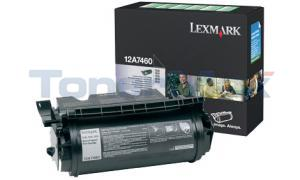 LEXMARK T630 TONER CARTRIDGE BLACK RP 5K (12A7460)