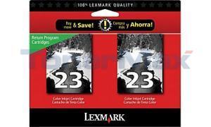 LEXMARK X3550 NO. 23 RP INKJET CART BLACK (18C1598)
