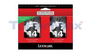 LEXMARK Z2300 RP NO.14 PRINT CART BLACK (18C2228)