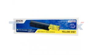 EPSON ACULASER CX11NF TONER YELLOW 4K (S050187)