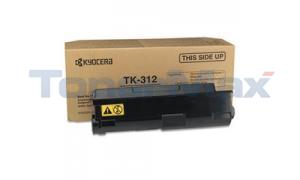 KYOCERA MITA FS-2000D LASER TONER CARTRIDGE BLACK (TK-312)