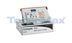 LEXMARK C720 TONER CART BLACK (15W0903)