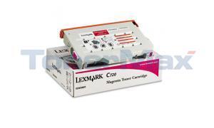 LEXMARK C720 TONER CART MAGENTA (15W0901)