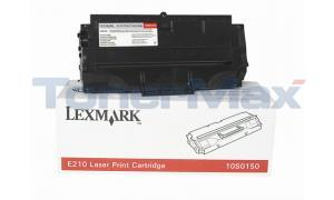 LEXMARK E210 PRINT CARTRIDGE BLACK (10S0150)