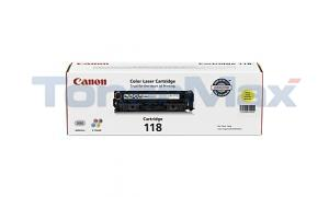 CANON 118 TONER CARTRIDGE YELLOW (2659B001)