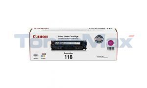 CANON 118 TONER CARTRIDGE MAGENTA (2660B001)