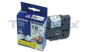 BROTHER P-TOUCH TAPE BLACK/WHITE (3/4 X 26) (TZ-241)
