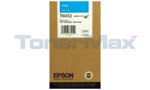 EPSON STYLUS PRO 7880 9880 INK CTG CYAN 220ML (T603200)