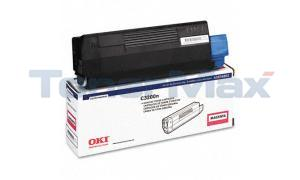 OKIDATA C3200 TONER CARTRIDGE MAGENTA (43034802)