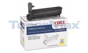 OKIDATA C5500N C5800LDN DRUM YELLOW (43381701)