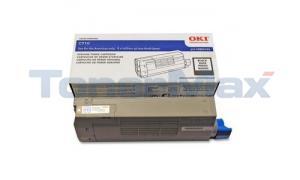 OKIDATA C710 TONER CARTRIDGE BLACK (43866104)
