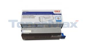 OKIDATA C710 TONER CARTRIDGE CYAN (43866103)