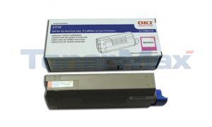 OKIDATA C710 TONER CARTRIDGE MAGENTA (43866102)