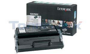 LEXMARK E321 TONER CARTRIDGE RP 3K (12A7400)